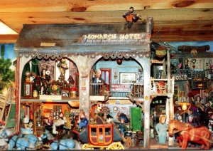 New Mexico Sandia Park Tinkertown Museum Monarch Hotel