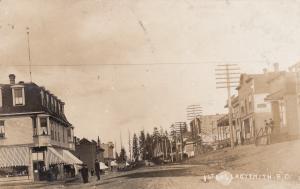 RP, LADYSMITH, British Columbia, Canada, 1909 ; 1st Avenue