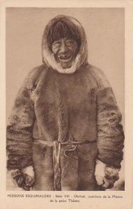Eskimo Man #1, Okrotak, catechiste de lde la petite Therese , Canada, 1910-1920s