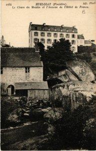 CPA HUELGOAT (Fnistere) - Le Chaos du Moulin et l'Annexe de l'Hotel (458120)