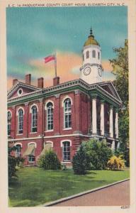 North Carolina Elizabeth City Pasquotank County Court House