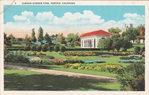 Colorado Denver Sunken Garden Park