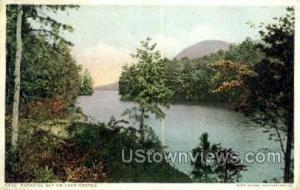 Paradise Bay Lake George NY Postal Used Unknown
