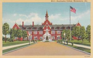 Alabama Montgomery Huntington College Curteich