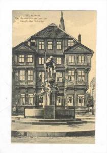 Hildesheim, Germany, 00-10s  Der Katzenbrunnen vor der Neustadter Schenke