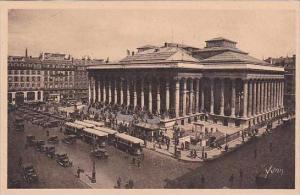 France Paris La Bourse