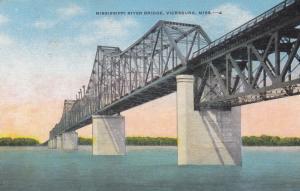 Mississippi River Bridge , VICKSBURG , Miss. , 30-40s