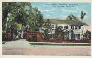 LOS ANGELES, California, 1900-10s; Jack Holt's Residence, Hollywood
