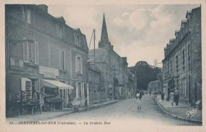 Cafe D Jano Calvades Grande Rue Restaurant Bernieres Sur Mer Normandy Postcard