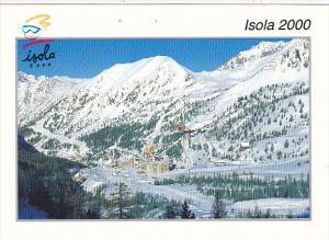 France Isola 2000 Vue generale