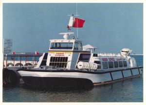 Postcard HAWAR EXPRESS Luxury Boat for Hawar Islands BAHRAIN Middle East