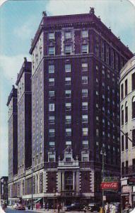 New York Syracuse Hotel Syracuse 1957