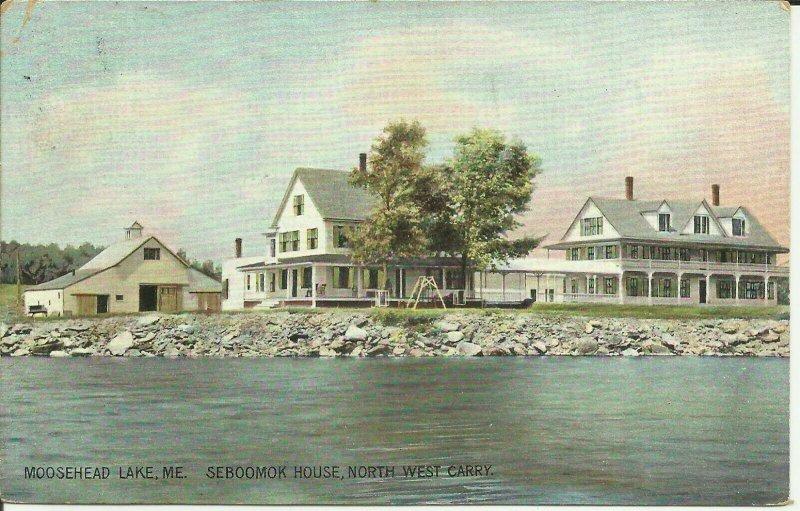 Moosehead Lake, Me., Seboomok House, North West Carry