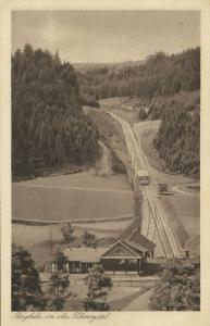 germany, Obstfelderschmiede-Oberweißbacher Bergbahn, Funicular (1920s)