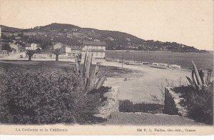 CANNES , France , PU-1908 ; La Croisette et la Californie