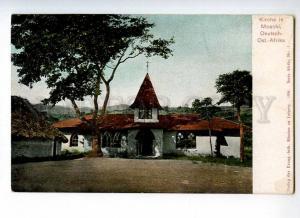 247146 Tanzania Moschi German colony Church Lutheran mission