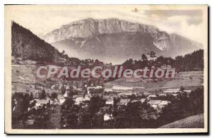Postcard Old Annecy Menthon The Village And The Parmelan