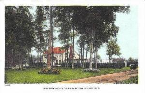 New York Saratoga Springs Chauncey Olcott Villa