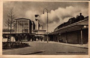 Netherlands Amsterdam muiderpoort Station 02.66