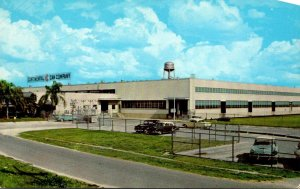 Florida Auburndale The Continental Can Company Plant 1966
