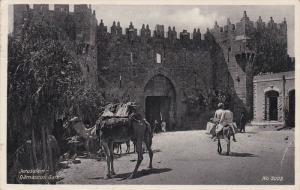 JERUSALEM, Israel, PU-1940; Damascus Gate