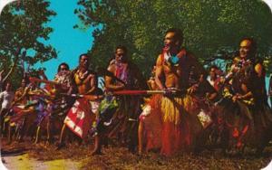New Caledonia Noumea Wallisienne Dancers
