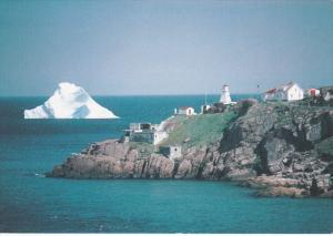 Iceberg & Lighthouse , ST JOHN'S , Newfoundland , Canada , 60-80s