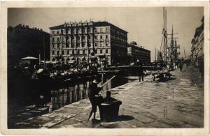 CPA Trieste Piazza Ponte rossa . ITALY (543805)