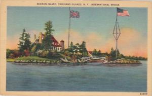 New York Thousand Islands Zavikon Island International Bridge