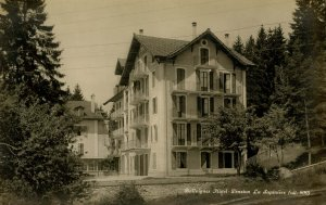 Switzerland - Ballaigues. Ballaigues Hotel  *RPPC