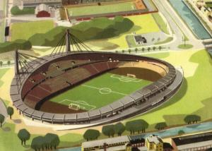 sweden, GÖTEBORG, Ullevi Stadion (1960s) Stadium Postcard