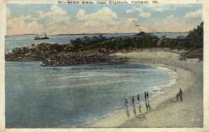 Beach, Cape Elizabeth Portland ME 1933