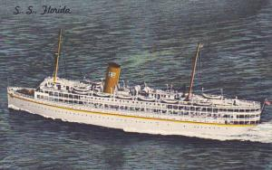 S S Florida P and O Steamship Company Nassau Cruises