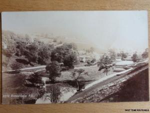 Derbyshire MONSAL DALE - Old RP Postcard No.8270