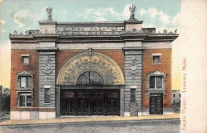 LPS14 Lewiston Maine Empire Theater Postcard