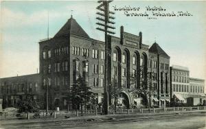Vintage Postcard Koehler Hotel Grand Island NE Hall County