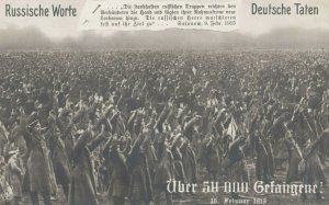 RP, Russians surrendering to Germans 1915