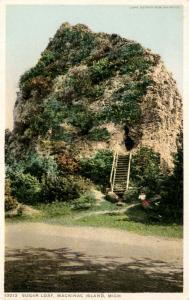 MI - Mackinac Island. Sugar Loaf