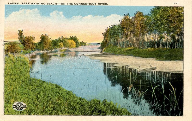 MA - Laurel Park. Bathing Beach on the Connecticut River