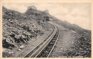 Summit of Snowdon Train Rail Valentine's Series
