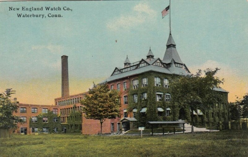 WATERBURY , Connecticut , 1900-10s ; New England Watch Company