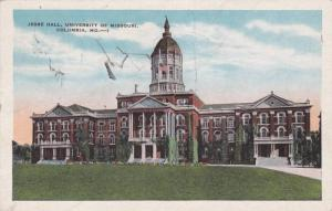 Jesse Hall, University of Missouri, Columbia, Missouri 1930