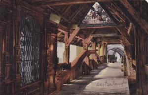 Switzerland Luzern Inneres Totentanzbruecke