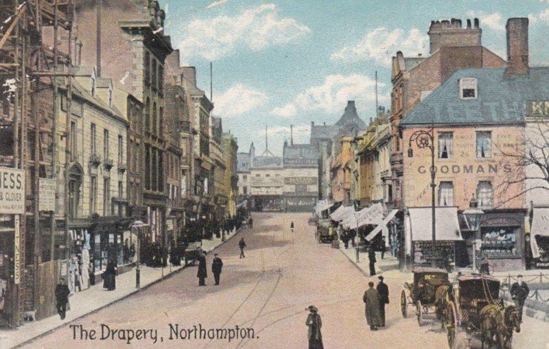 NORTHAMPTON, Northamptonshire, England, PU-1909 ; The Drapery