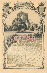 Old Postcard Anjou France Historic Collection