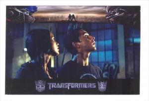 Movie Advertising postcard   TRANSFORMERS # 15