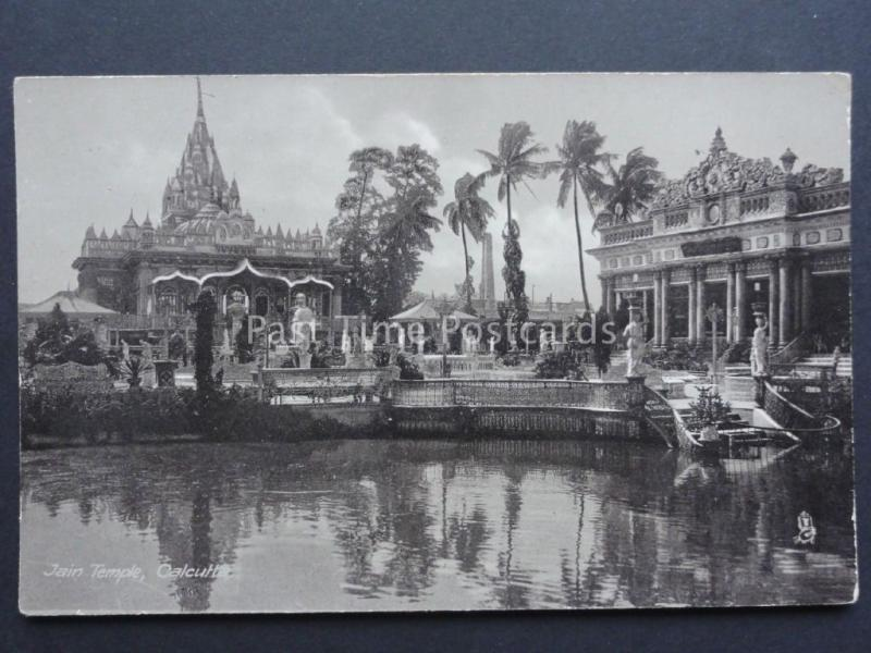India: Calcutta, Jain Temple - Old Postcard by Rapael Tuck & Son No.2595