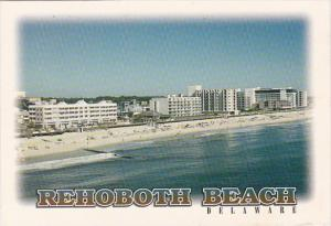 Delaware Rehoboth Beach Aerial View Of Ocean Front Hotels and Condos 2001