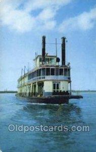 Minnesota Centennial Showboat Ferry Boats, Ship Unused