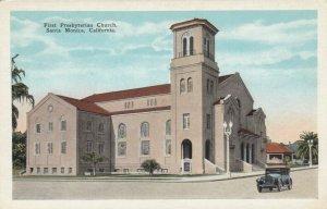 SANTA MONICA , California , 1900-10s ; First Presbyterian Church